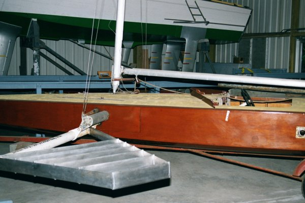 Port Forward Foil in Retracted Position